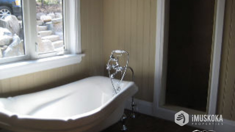 Master Bath Master Ensuite with soaker tub