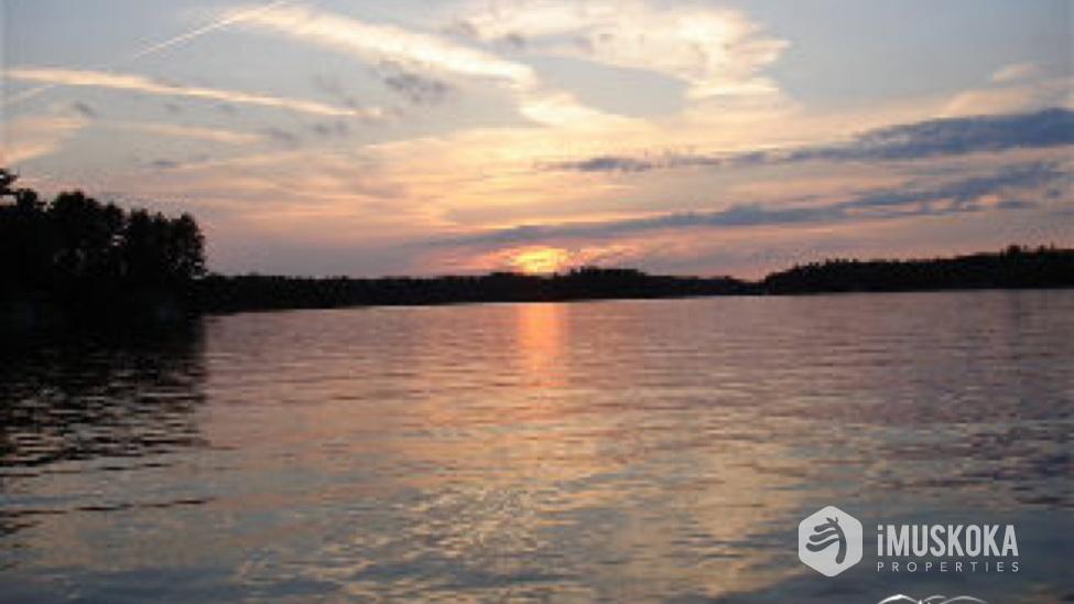 Summertime Sunsets Sunsets. West exposure fromt he dock on Lake Muskoka.