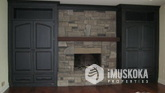 Beautiful Fireplace and outstanding craftsmanship