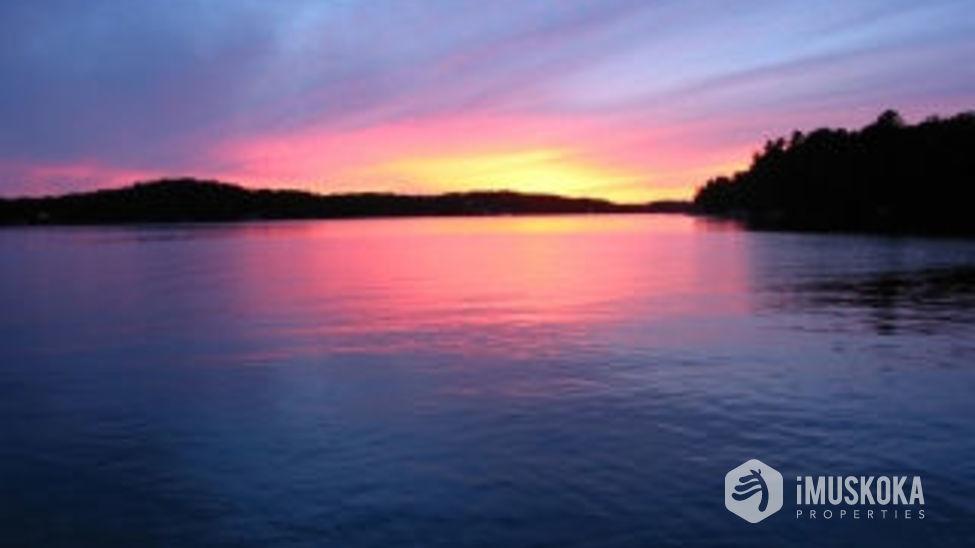 More Sunsets Glowing sunsets on Lower Joseph