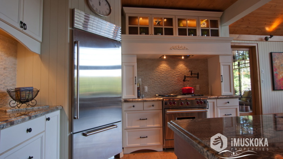 Gourmet Kitchen with Professional Style Appliances