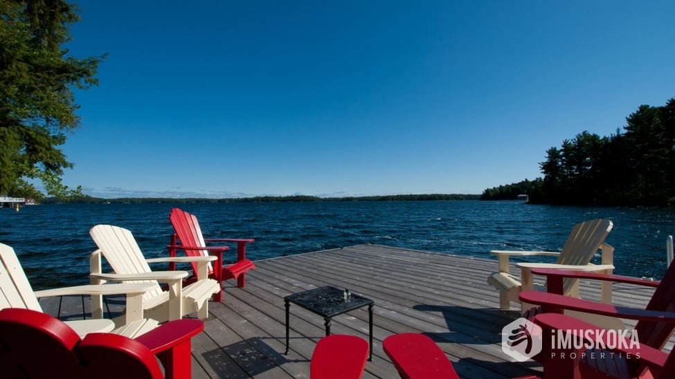 Unobstructed Views over Lake Joseph