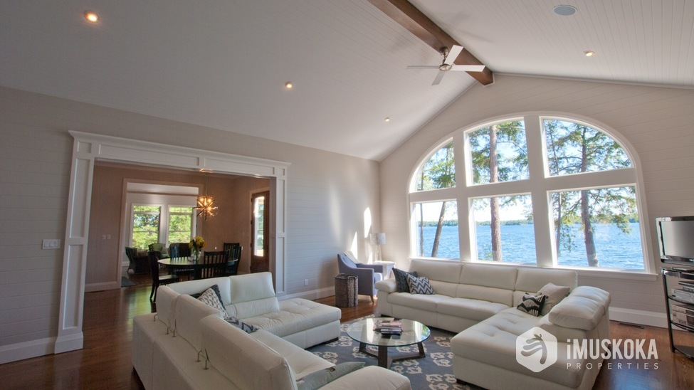 Bright and Sun Drenched Living Area