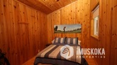 Pine Lined Bedroom